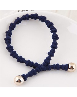 Korean Fashion Bambo Joints Design Hair Band - Royal Blue