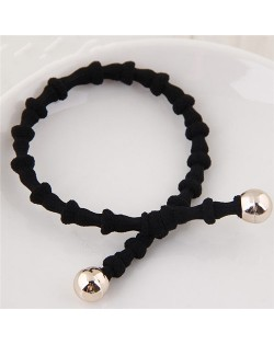 Korean Fashion Bambo Joints Design Hair Band - Black