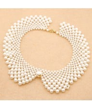 Pearl Fashion Princess Style Handmade Costume Necklace