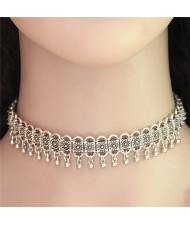 High Fashion Tiny Bells Alloy Fashion Choker Necklace
