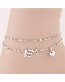Twelve Constellations Series Sweet Style Women Fashion Anklets - Scorpio