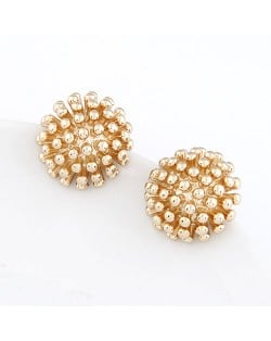 Korean Fashion Radial Pistil Flower Ear Studs