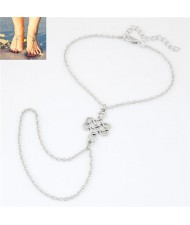 Chinese Knot Fashion Alloy Women Anklet
