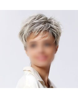 Western High Fashion Short Curly Synthetic Wig