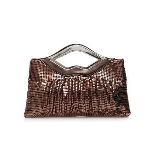 aad124773d (5 Colors Available) Lips Handle Design Glistening Sequins Evening Handbag
