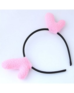 Deer Antlers Adorable Fashion Hair Hoop - Pink