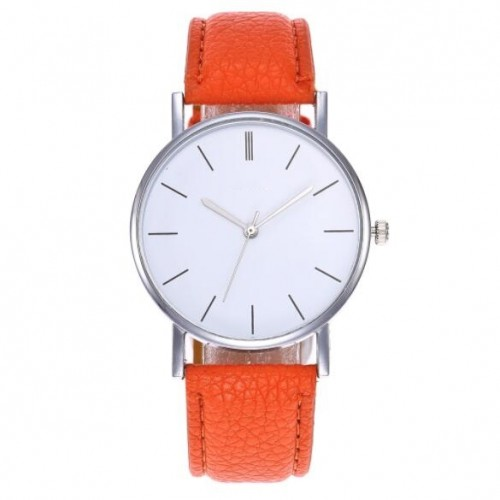 d9367f1ed3f 12 Colors Available Simple Plain Fashion Index Design Unisex Wrist Watch ...