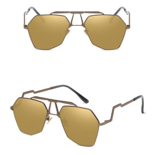 e06e065c0c 6 Colors Available Irregular Frame with Unique Design Legs Unisex High  Fashion Sunglasses