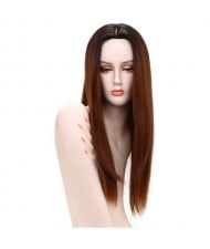 5 Color Available Straight Synthetic Wig