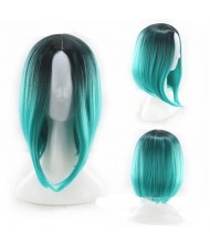 11 Colors Available Bob Style Middle Side Part High Fashion Short Women Synthetic Wig