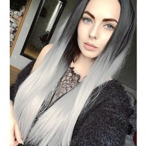 6 Color Available Long Straight Hair High Fashion Women Synthetic Wig