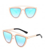 6 Colors Available Cat Eye Thick Frame Women Vintage Fashion Sunglasses