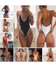 11 Colors Super Hot Style One-piece Bikini Set