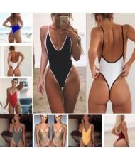 11 Colors Super Hot Style One-piece Bikini Set