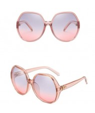 6 Colors Available Thick Frame Large Lens Bold Fashion Sunglasses