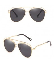 6 Colors Available Hollow Style Thin Alloy Frame Classic Fashion Sunglasses