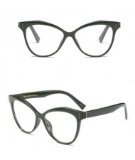 6 Colors Available High Fashion Vintage Style Plain Frame Light-weighted Women Sunglasses