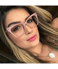 5 Colors Available Cat-eye Shape Thick Frame Design Popular Fashion Sunglasses