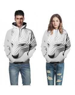3D Polar Bear Printing High Fashion Hoodie