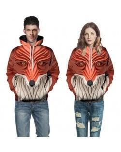 3D Fox Printing High Fashion Hoodie