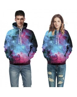3D Starry Sky Printing High Fashion Hoodie