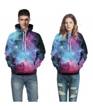 3D Starry Sky Printing High Fashion Hoodie
