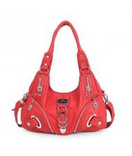 (13 Colors Available) High Fashion Women PU Tote Bag/ Shoulder Bag
