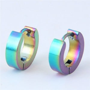 High Fashion Titanium Steel Cool Style Ear Clips - Multicolor