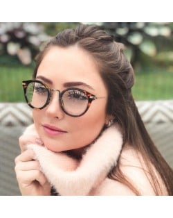 6 Colors Available Golden Stars Rimmed Frame High Fashion Cat Eye Shape Sunglasses