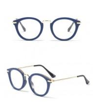 6 Colors Available Golden Stars Rimmed Frame High Fashion Cat Eye Shape Sunglasses