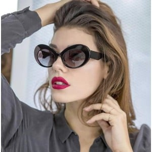6 Colors Available High Fashion Cat Eye Frame Women Sunglasses