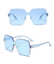 6 Colors Available Frameless Bold Fashion Women Sunglasses