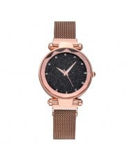 6 Colors Available Starry Night Index Delicate Fashion Women Wrist Watch