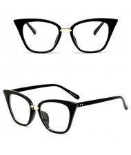 11 Colors Available Vintage Fashion Slim Frame Design Women Cat Eye Sunglasses