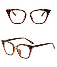 11 Colors Available Vintage Fashion Slim Frame Design Women Cat Eye Sunglasses