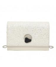 (3 Colors Available) Shining Paillette Graceful Design Chain Fashion Women Handbag/ Shoulder Bag