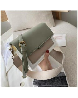 (4 Colors Available) Contrast Color Design Korean Fashion Women Handbag/ Shoulder Bag