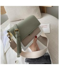 (4 Colors Available) Contrast Color Design Korean Fashion Women Handbag/ Shoulder Bag