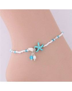 Starfish Beach Fashion Women Anklet