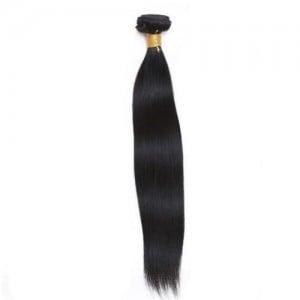 1 Bundle Straight Virgin Human Hair Weaves/ Wefts