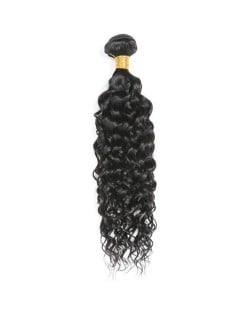 1 Bundle Loose Wave Virgin Human Hair Weft/ Extensions