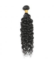 1 Bundle Water Wave Virgin Human Hair Weft/ Extensions