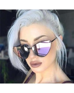6 Colors Available Vintage Design Cat-eye Frame High Fashion Sunglasses
