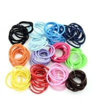 (120 pcs) Elastic Multiclor Choices Baby Hair Band Set