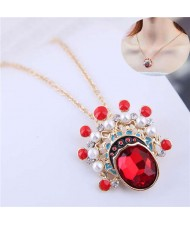 Beijing Opera Fashion Women Costume Necklace