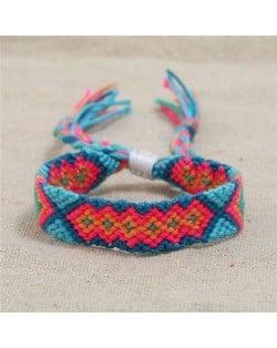 Bohemian Weaving Fashion Women Friendship Bracelet - Color 1