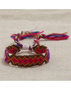 Bohemian Weaving Fashion Women Friendship Bracelet - Color 2