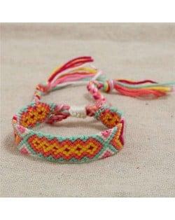 Bohemian Weaving Fashion Women Friendship Bracelet - Color 3