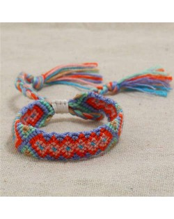 Bohemian Weaving Fashion Women Friendship Bracelet - Color 4