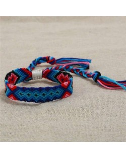Bohemian Weaving Fashion Women Friendship Bracelet - Color 5